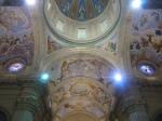Bóvedas de la nave central y crucero