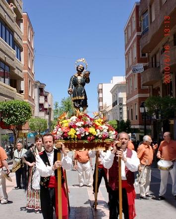 Procesión de San Isidro