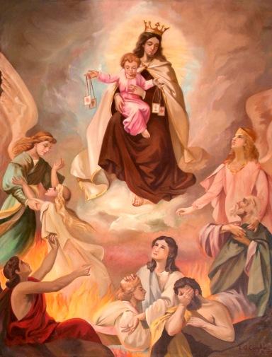 Virgen del Carmen con las Ánimas del Purgatorio